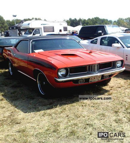 Plymouth  1972 PLYMOUTH 'CUDA 340 SIX PACK 1972 Vintage, Classic and Old Cars photo