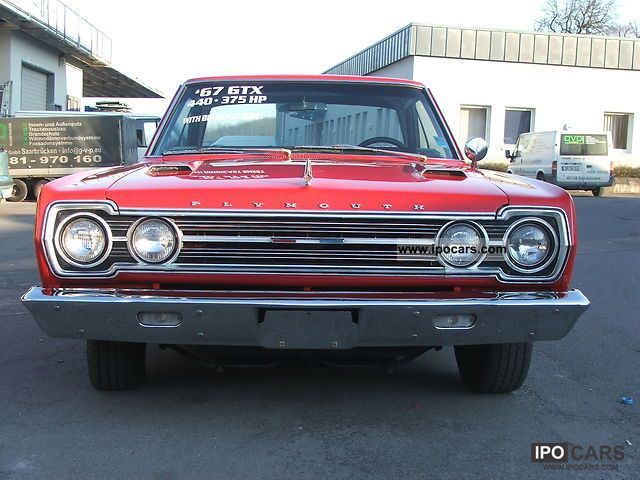 Plymouth  Belvedere GTX 1967 Vintage, Classic and Old Cars photo