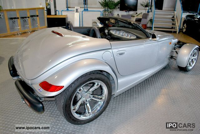 2000 Plymouth Prowler Only 3300 Km Car Photo And