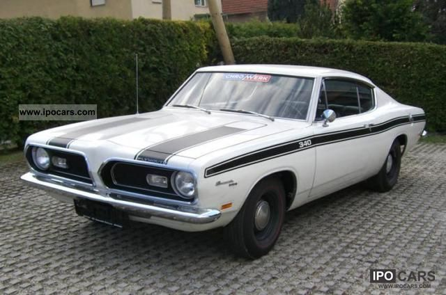 Plymouth  Barracuda 5.6 L V8 Auto 1969 Vintage, Classic and Old Cars photo