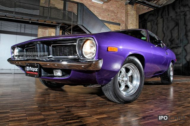 Plymouth  Barracuda Cuda Mopar V8 1972 Vintage, Classic and Old Cars photo