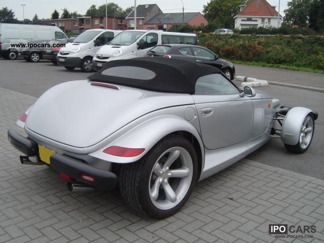 2004 Plymouth Prowler 3.5i V6 Auto Stick SHOWROOM CONDITION! - Car Photo and Specs