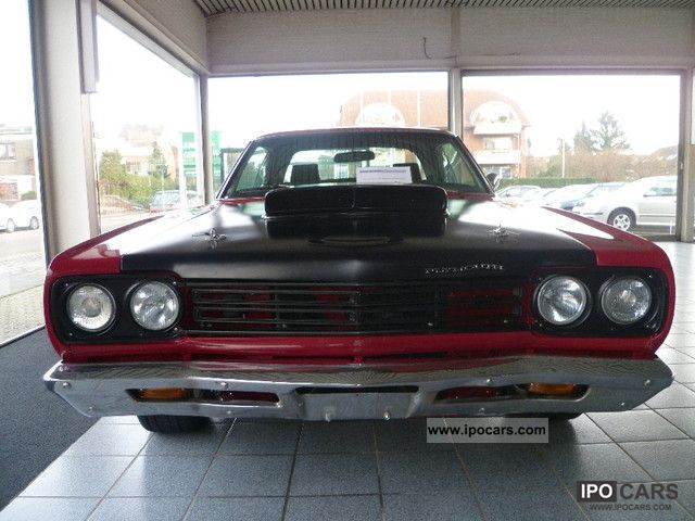 Plymouth  Roadrunner Clone, 440, H-approval 1968 Vintage, Classic and Old Cars photo
