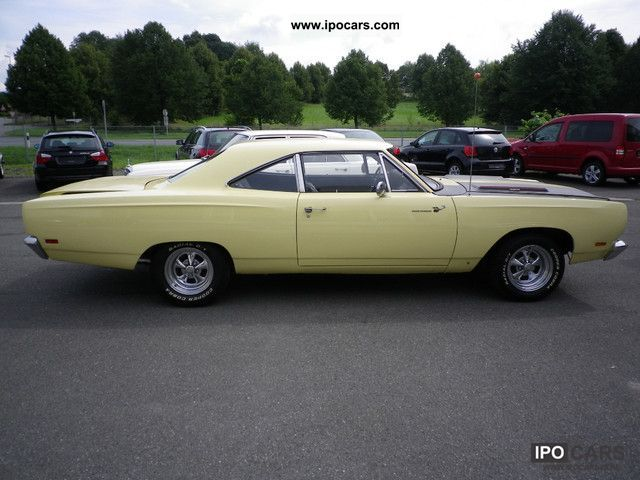 Plymouth  Servo Auto roadrunner original 383er 1969 Vintage, Classic and Old Cars photo