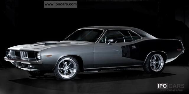 Plymouth  CUDA - UNIQUE musclecar! 1973 Vintage, Classic and Old Cars photo