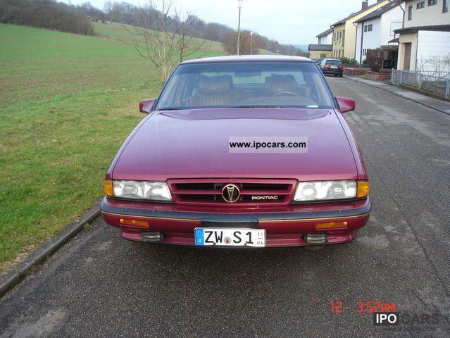 1990 pontiac bonneville sse car photo and specs 1990 pontiac bonneville sse limousine used vehicle photo