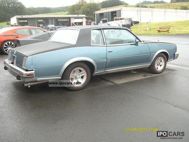 1980 Pontiac  Grand Prix V8 Coupe Sports car/Coupe Classic Vehicle photo