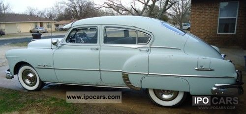 Pontiac  Chieftain Silver Streak 8 cyl aut 1949 Vintage, Classic and Old Cars photo