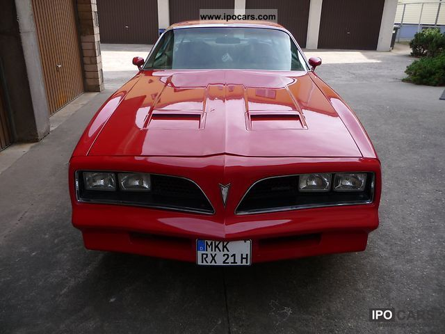 Pontiac  Firebird Formula 400 1978 Vintage, Classic and Old Cars photo