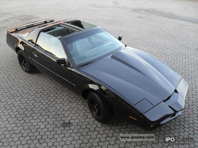 T Top Cars >> 1990 Pontiac Trans Am Kitt T Top A Nuovo Verniciata Storica Car