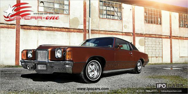Pontiac  Grand Prix 6.5 L Fisher 2Hnd excellent condition only 87 000 1971 Vintage, Classic and Old Cars photo