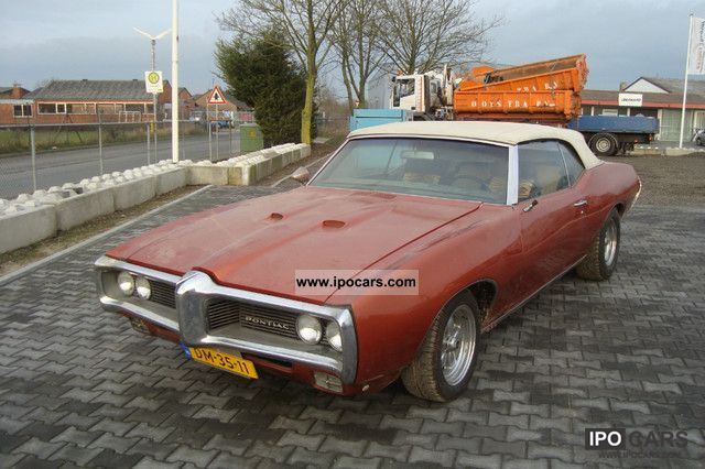 Pontiac  Le Mans (350) V8 Convertible 1968 Vintage, Classic and Old Cars photo
