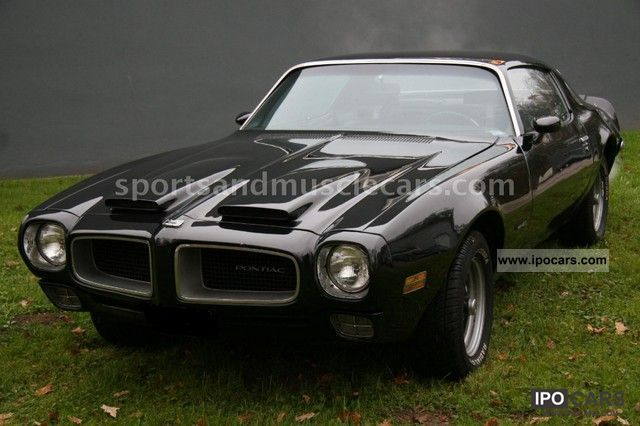 Pontiac  1970 Firebird Formula 400cui / 6600 orig.32000km 1970 Vintage, Classic and Old Cars photo