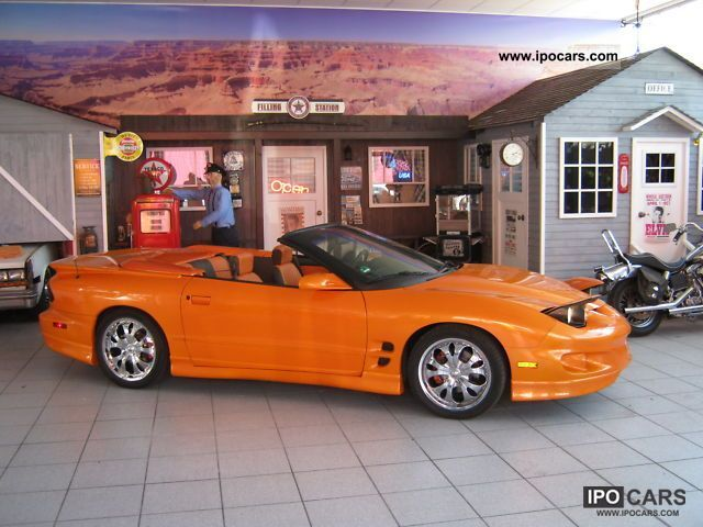 1998 pontiac firebird 3 8l v6 convertible show car car. Black Bedroom Furniture Sets. Home Design Ideas