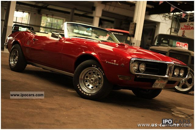 Pontiac  Firebird Convertible 5.7 l V8 MUSCLE CAR 68 1968 Vintage, Classic and Old Cars photo