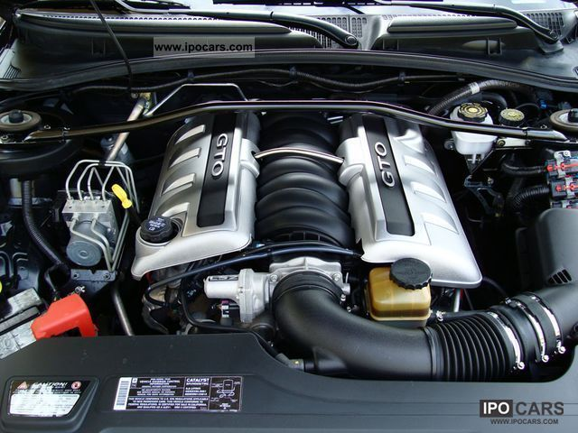 2006 Pontiac Gto 6 0 L Sports Car Coupe Used Vehicle Photo