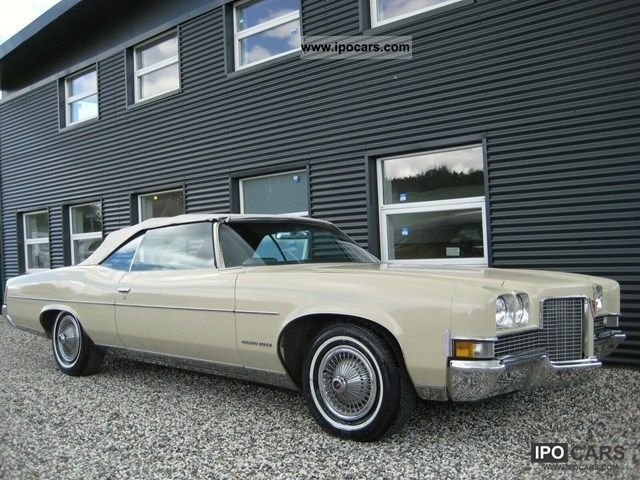 1971 Pontiac  Grandville Convertible 7.4 Cabrio / roadster Used vehicle photo
