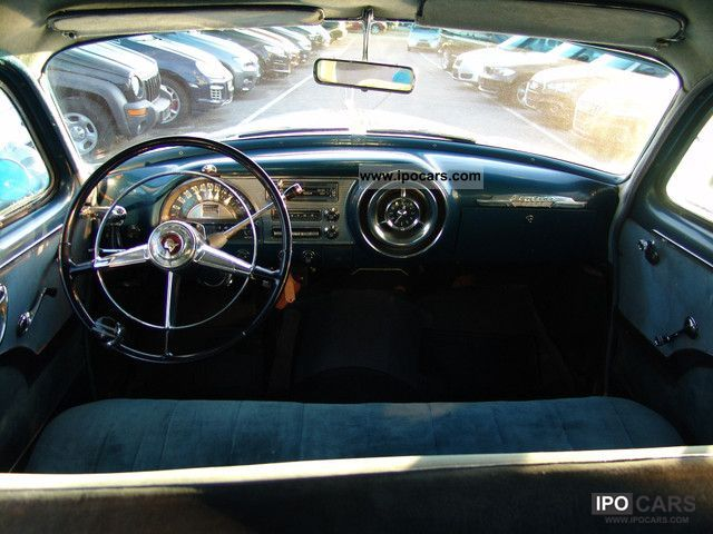 1953 Pontiac Chieftain Interior Pictures to Pin on Pinterest