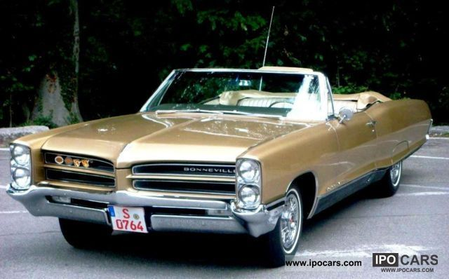 Pontiac  Bonneville convertible 1A * H STATE APPROVAL 1966 Vintage, Classic and Old Cars photo