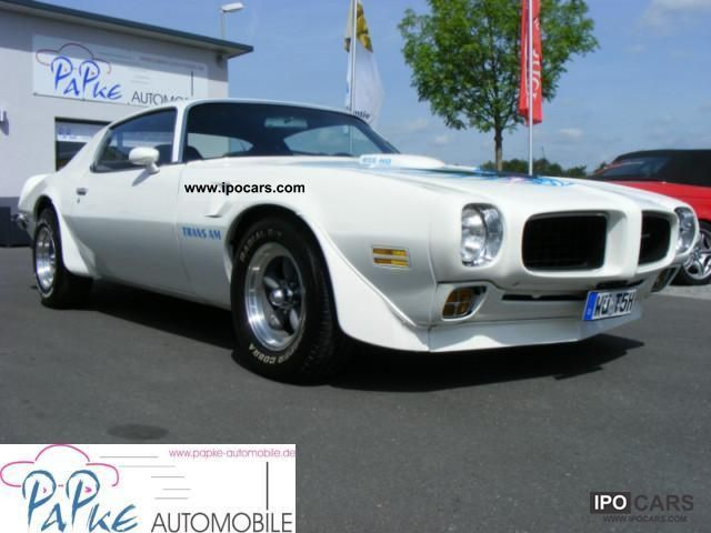 Pontiac  Trans AM 455 HO 2 + 7.5 * Classic Data Model * EU * 1972 Vintage, Classic and Old Cars photo