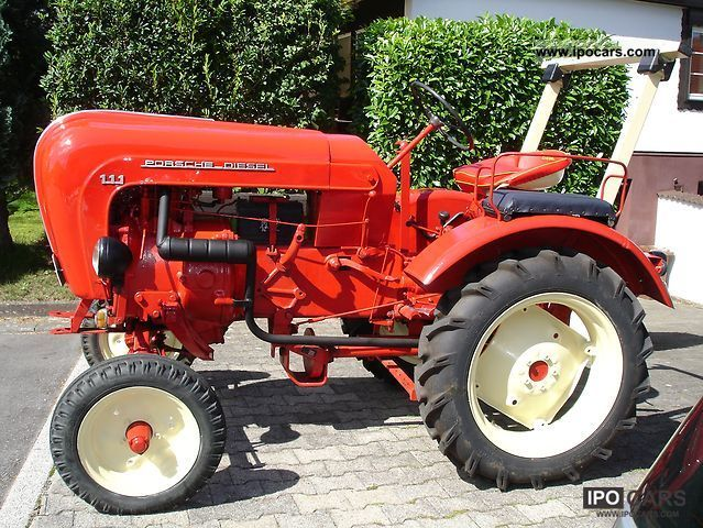 Porsche  Tractor diesel A111 1956 Vintage, Classic and Old Cars photo