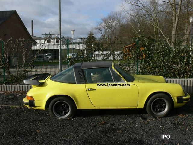 Porsche  Targa 2.7 Sportomatic 1973 Vintage, Classic and Old Cars photo