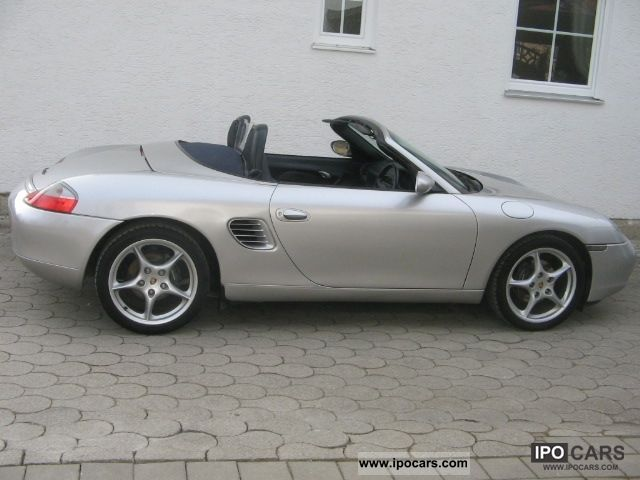 2003 porsche boxster car photo and specs. Black Bedroom Furniture Sets. Home Design Ideas