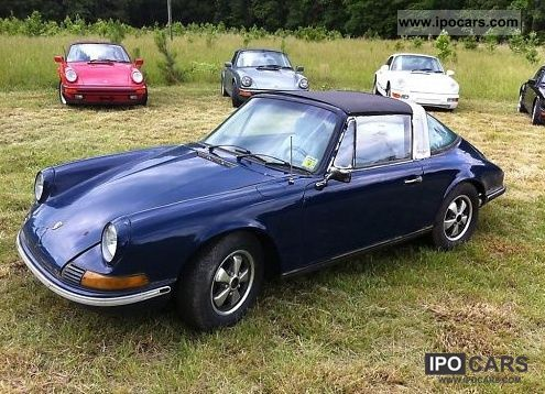 Porsche  911 2,2 T TARGA 1970 Vintage, Classic and Old Cars photo