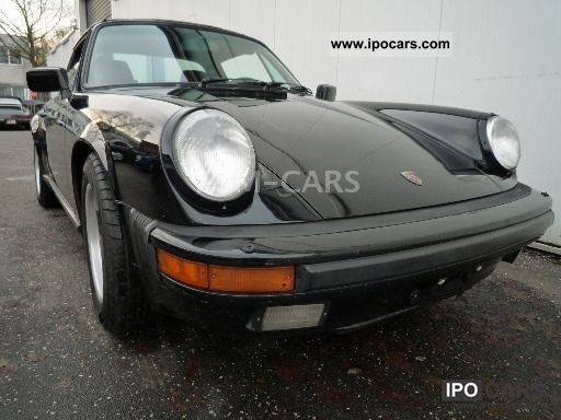 1987 Porsche  911 Carrera 3.2 Targa G50 Climate Cabrio / roadster Used vehicle photo