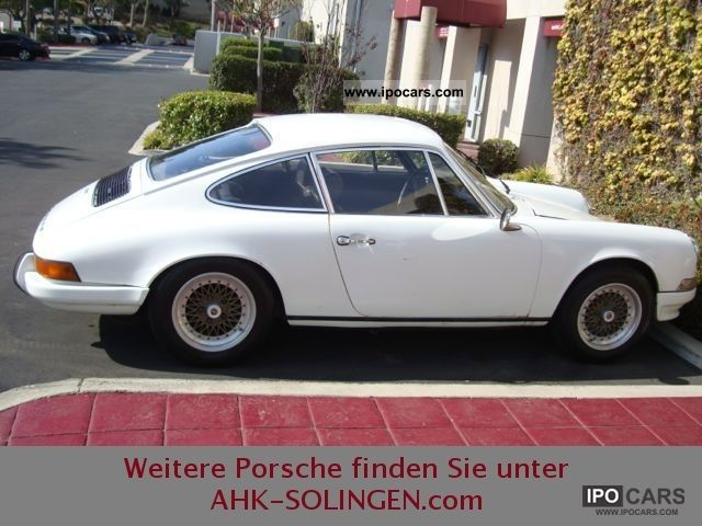 Porsche  911 2,2 T orange / Recaro sport seats 1971 Vintage, Classic and Old Cars photo