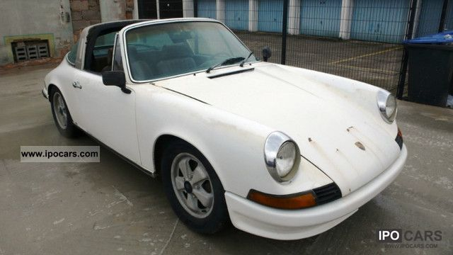 1973 Porsche  911 Targa 2.4 T / Matching no. / Fahrbereit Cabrio / roadster Used vehicle photo