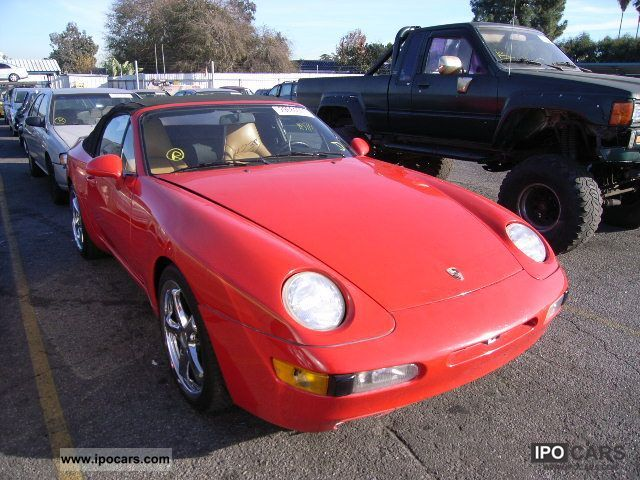 1992 Porsche  968 Sports car/Coupe Used vehicle 			(business photo