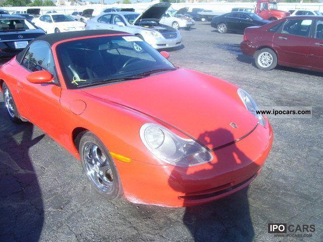 2000 Porsche  911 CARRERA Cabrio / roadster Used vehicle (business photo