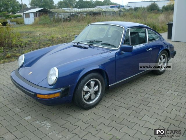 1975 porsche 911 s coupe california car photo and specs. Black Bedroom Furniture Sets. Home Design Ideas