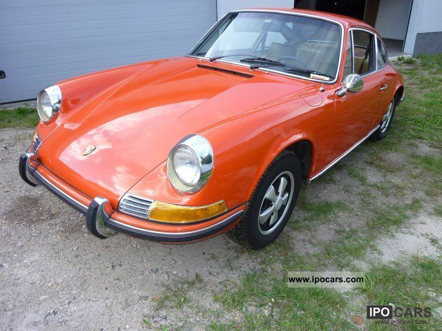 Porsche  911 2,2 T * Air orig.Bordmappe / checkbook 1969 Vintage, Classic and Old Cars photo