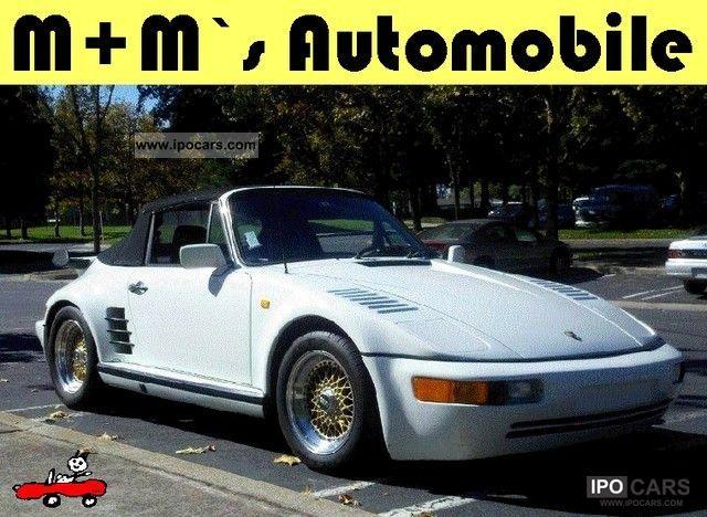1981 Porsche  911 Cabrio Flatnose / Turbo kit / widebody / leather / BBS Cabrio / roadster Classic Vehicle photo