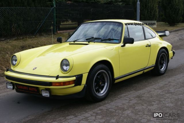 1974 Porsche  1974 911 TURBO Sports car/Coupe Classic Vehicle photo