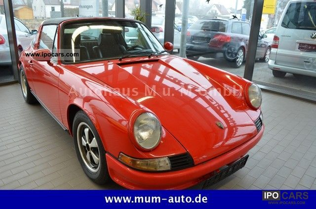 Porsche  2.4T 911 Targa \ 1973 Vintage, Classic and Old Cars photo