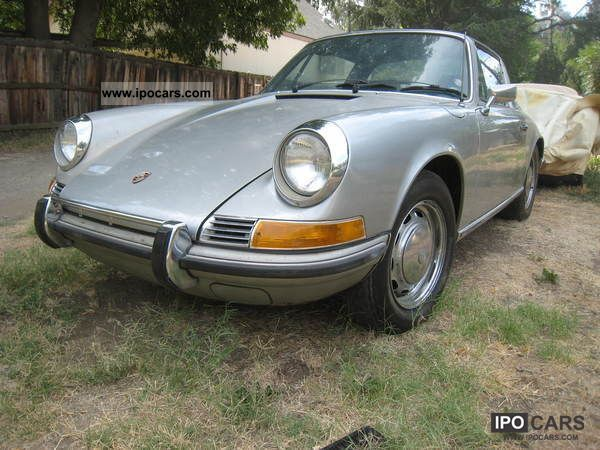 Porsche  911 2,2 T Targa MATCHING N0. 1971 Vintage, Classic and Old Cars photo