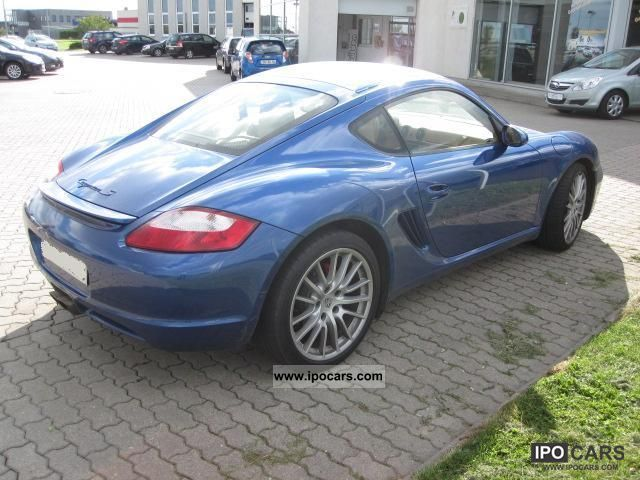 2006 porsche cayman s car photo and specs. Black Bedroom Furniture Sets. Home Design Ideas