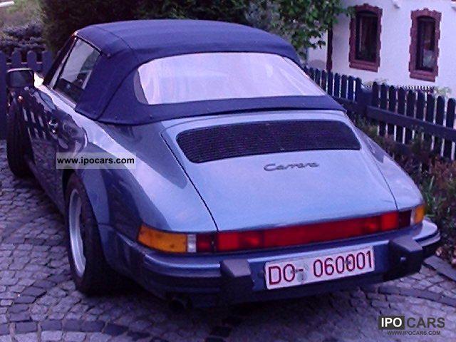 1988 Porsche  911 Carrera Cabriolet 16 \ Cabrio / roadster Used vehicle photo