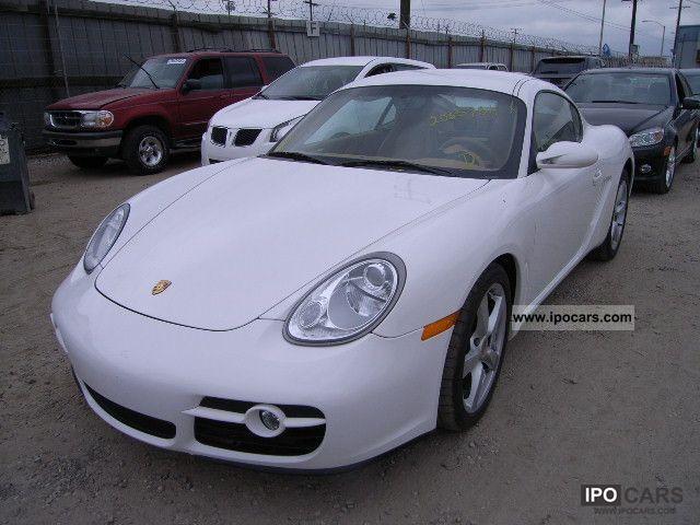 2008 Porsche Cayman Car Photo And Specs