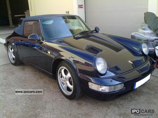 1993 Porsche 911 Carrera 4 Cabriolet Car Photo And Specs