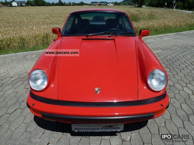 1983 Porsche  911 Carrera 3.2 SC Sports car/Coupe Used vehicle photo