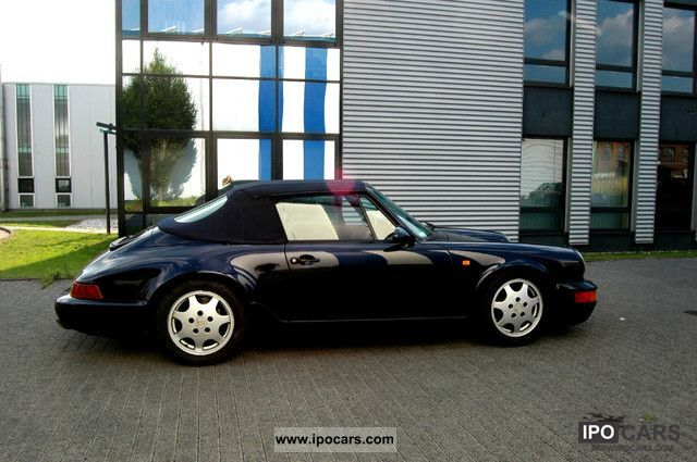 1992 Porsche  911 Carrera 4 Cabriolet Cabrio / roadster Used vehicle photo