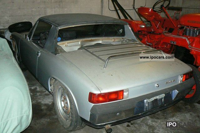 Porsche  914-6 Silver Original Matching Numbers 1970 1970 Vintage, Classic and Old Cars photo
