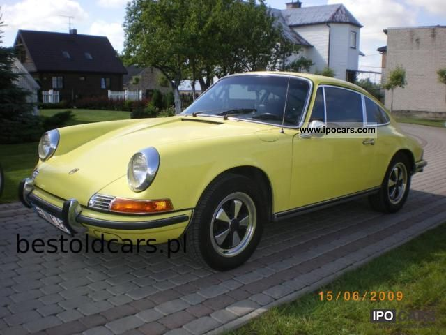 Porsche  911 T Coupe 1971 Vintage, Classic and Old Cars photo