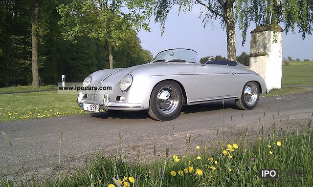 Porsche  356 Speedster Vintage 1957 Vintage, Classic and Old Cars photo