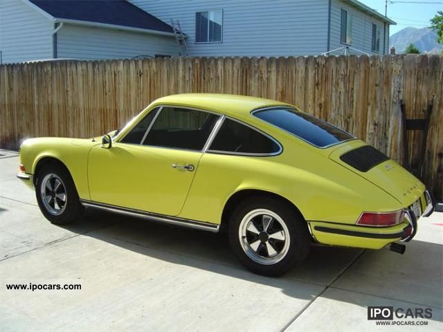 Porsche  911 T 1971 Vintage, Classic and Old Cars photo