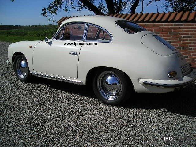 1961 Porsche 356 B T5 Coupe 1 6 Car Photo And Specs
